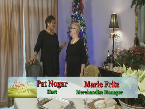 Living Well with Pat Nogar - Holiday Table Settings Part 3 of 3